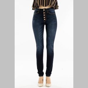 Denim - Gillian Curvy High Rise Curvy Super Skinny Jeans